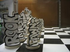chess set by arimoore, via Flickr