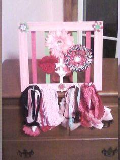 Hair clips and band holder....