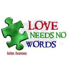 Love needs no words.