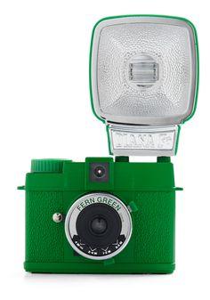 Fern green mini Diana camera