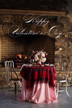 Oh my!  LOVE this Valentine's table