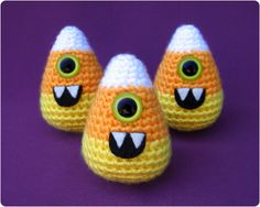 Free Pattern : Candy-clops by Gleeful Things