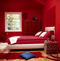 Decoración de Decoration: Color rojo en decoración