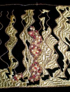 Goldwork and beading