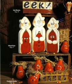 halloween tole painting | Halloween Winter Snowman Pumpkin Light Bulbs Tole Painting Patterns ...