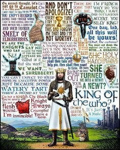 Monty Python Holy Grail quotes, all that I needed right here! Haha