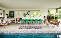 Style Dynasty - Missoni Pool Room