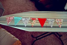 No Sew Pennant Banner 6