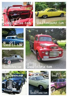 Round up of the best vintage cars on our Canadian sites this month. Beautiful motors!