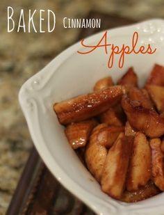 Baked Cinnamon Apples #recipes #apples