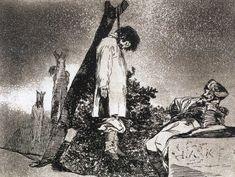 by Francisco José de Goya Y Lucientes of Spain (1746-1828) http://virtual-horror.blogspot.com/