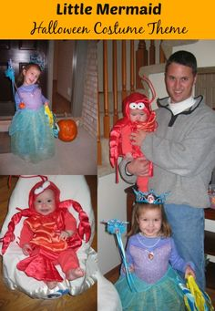 Family Halloween Costume Themes - Little Mermaid, Alice In Wonderland, Wizard of Oz, Star Wars