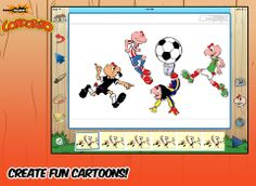 Toon Boom Condorito - a fun iPad app for creating a digital comic w/ the ability to make it move