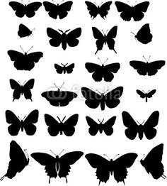 moldes borboletas