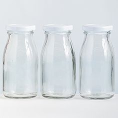Unimprinted Glass Milk Bottley   Personalize these for a baby shower for beverage, as favors, or centerpieces.  Sooo cute!