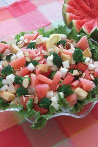 Beautiful Watermelon Salad