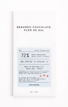 Casa Bosques Chocolates by Savvy Studio