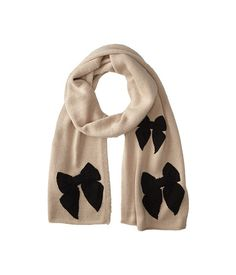 Adorable stitched bow scarf from Kate Spade New York. #toocute #fashion #accessories