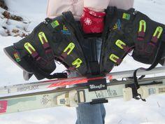 80's Ski Gear: What you need to look Rad. Ski Tote!