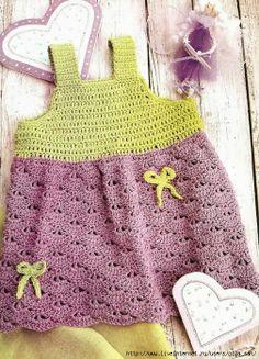 Patrón vestido de crochet