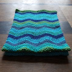 Ripple Scarf - finished!