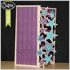 Sizzix Die Cutting Tutorial | Die Cut Edge Card by Tami Mayberry
