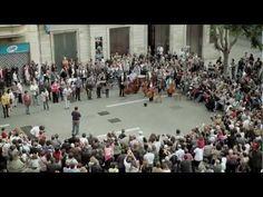Som Sabadell flashmob -
