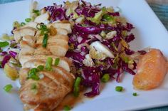 The Tasty Alternative: Asian Chicken with Sweet Orange Cabbage Salad (Paleo, gluten free, soy free)