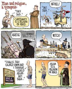 Sharing this because Pulitzer Prize-winning cartoonist David Horsey lived in my neighborhood.