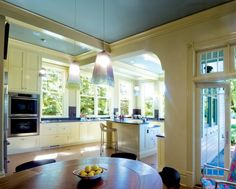 Beautiful kitchen in a Victorian home
