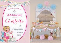 Charlotte's Web themed birthday party with Such CUTE IDEAS via Kara's Party Ideas KarasPartyIdeas.com Invitation, cake, dessert, games, printables and more!