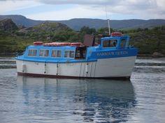 ferry to Garnish island, West Cork
