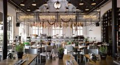 Mercat restaurant by Concrete, Amsterdam » Retail Design Blog