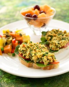 Chickpea and Kale Sandwich Spread.....vegan.
