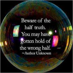 Do not ignore such wisdom!