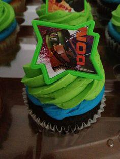 Teenage Mutant Ninja Turtles Cupcake Rings by ABirthdayPlace, $2.99