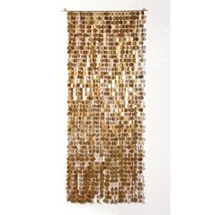 GOLD LARGE SEQUIN CURTAIN