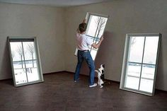 faux windows