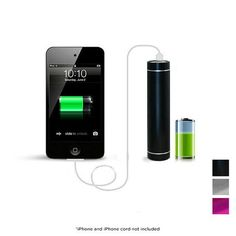 2600mAh Flash Charger for Cell Phones and Tablets - Assorted Colors
