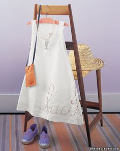 Sewing Projects: Summer Sewing Projects - Martha Stewart