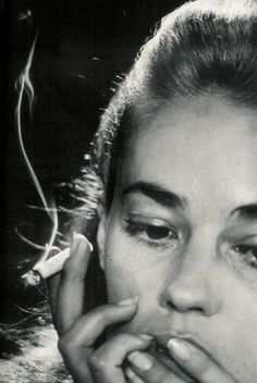 Jeanne Moreau by David Bailey (1964).