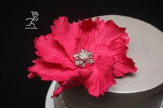 Fast Big Statement Flower ready in 24 hours - by Ciccio @ CakesDecor.com - cake decorating website