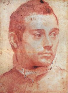 Portrait of a man    Annibale Carracci (November 3, 1560 – July 15, 1609)