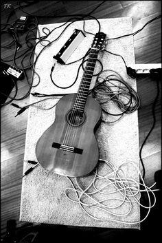 The guitar... my love....