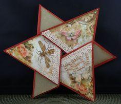 Tri-fold star card
