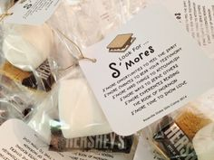 S'more Handout and Printable