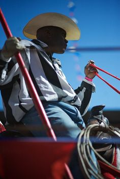 """In April of every year, Angola (Maximum Security) Prison in Louisiana holds a prison rodeo for the public known as the """"Wildest show in the South."""""""
