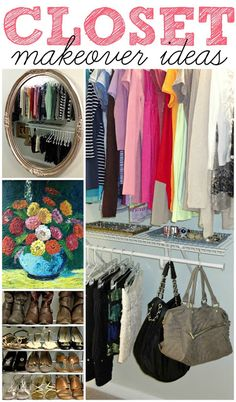 DIY:: AMAZING ! Budget Closet Makeover Ideas ! And they Are All So Timeless & Lovely !! by  (LiveLoveDIY)
