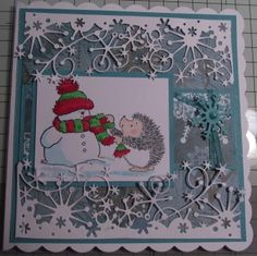 Christmas card Penny Black
