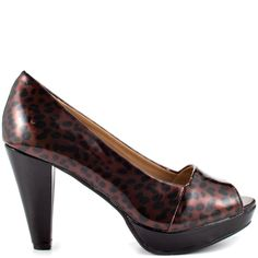 Ginny - Leopard Patent  Madeline